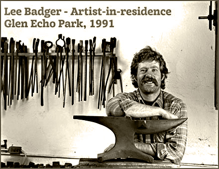 Lee Badger - Artist-in-residence, Glen Echo Park 1992