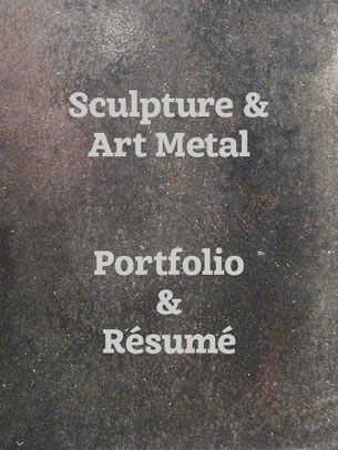 Artist Blacksmith sculpture portfolio link
