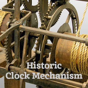 Restoration of an historic clock mechanism