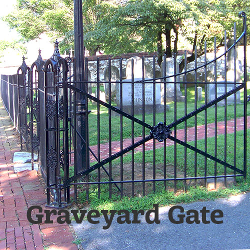 Restoration and reconstruction of an historic wrought iron gate
