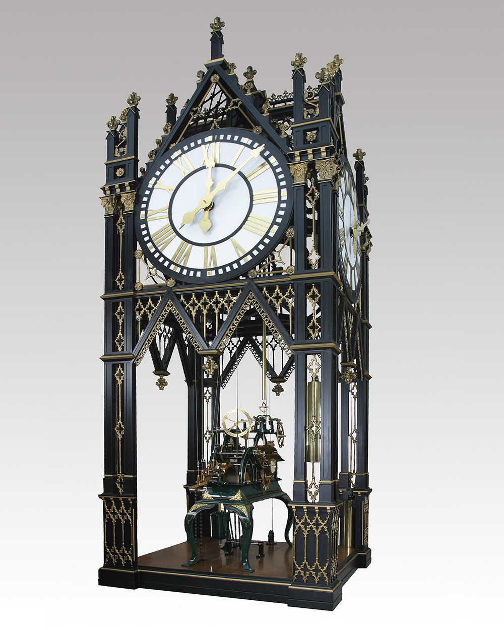 Jbgalleries Gothic Tower Images Artist Blacksmith Revival Clock